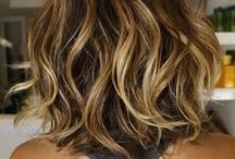 peinados, estilos y color