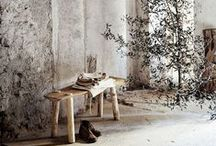 raw + rustic / by ABC Carpet & Home