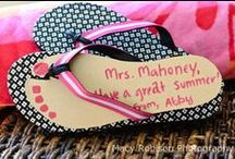 Teacher Gift Ideas / They deserve a gift after putting up with my brood for a year  / by Stig Mommy