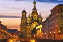 Rusia / Este tablero incluye fotografías de lugares bellos para ir en Rusia. Si desea visitar Rusia y aprender ruso visitanos en: www.intercoined.net