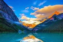 Canadá / Este tablero incluye fotografías de lugares bellos para ir en Canadá. Si desea visitar Canadá y aprender inglés visitanos en: www.intercoined.net