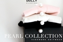 PEARL COLLECTION - CASHMERE KNITWEAR from DOLLY by Le Petit Tom ® /  PEARL COLLECTION  For Pearlized and Pampered DOLLY Girls!  DOLLY by Le Petit Tom ® designed an exclusive, collection with luxury cashmere and merino wool accessorized with pearls.  Cashmere is cool in summer and cozy in winter! Pearls make you feel pampered!  The Pearl Collection is sophisticated and refined knitwear made by an established atelier specialized in the best cashmere and wool productions. Wear your luxury DOLLY Knits when you are in need of some warmth and pampering!