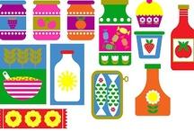 Inspiring illustrations and patterns