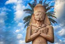 Egipto / Este tablero incluye fotografías de lugares bellos para ir en Egipto. Si desea visitar Egipto y aprender árabe visitanos en: www.intercoined.net