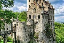 Alemania / Este tablero incluye fotografías de lugares bellos para ir en Alemania. Si desea visitar Alemania y aprender alemán visitanos en: www.intercoined.net