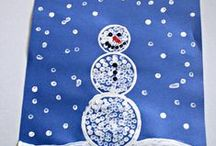 Winter Activities for Kids / Winter crafts, art ideas, and kids activities / by Vicky from Mess For Less