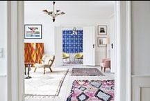 the eclectic interior