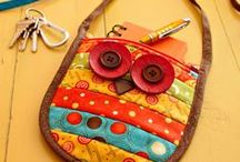 Bag Sewing Tutorials & Inspiration / Bags, bags, bags and maybe the occasional purse!