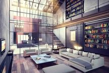 Inspiring Interiors/Exteriors / by Wes Schultz