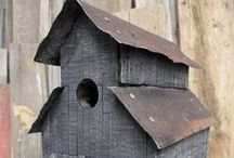 Birdbaths, Birdcages, Birdhouses  / by Cindy Welsh