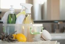 Household Hacks [Natural] / Little hacks for DIY projects around the house. Natural ways to clean and freshen your surroundings.