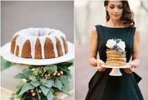 ~ Wedding Cakes, Sweets N Treats ~ / A collection of pretty wedding cakes and sweet treats to inspire.