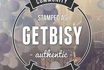 GetBisy | Joining in true love for authenticity  / We are GetBisy. We like things pretty. Our goal is to bring the world's prettiest things together in one place. That place is us. These pretty things are not your random finds, you know. They are pretty authentic.   We are not a webshop, we are curators. We guide you to the most awesome authentic shops and brands around the world. Every single day. Isn't that pretty fantastic? / by GetBisy