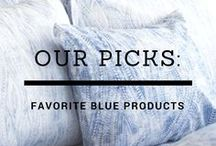 bambeco blue / Products, ideas and inspiration for decorating your home in blue!