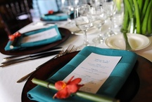 Napkin folds and decor / Ideas and inspiration to spruce up your tables.  Find more on WEDtheMagazine.com.
