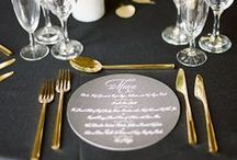 ~ Wedding Table Scapes ~ / Get inspired with these beautiful wedding table scape ideas