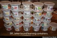 Letter Learning / by Sandy & Diana Hellard-Jessup