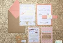 ~ Design by Louma - Wedding Stationery ~ / Welcome to one of our lovely vendors 'Design by Louma', here we feature some of her gorgeous and creative work.