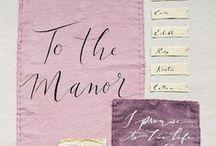 ~ Wedding Stationery ~ / Beautiful wedding stationery to inspire