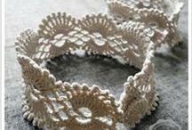 Crochet Jewellery / Ideas, Inspiration and Tutorials for Crochety Jewellery goodness