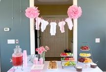 Baby Showers / Ideas for when I'm involved in planning friends baby showers