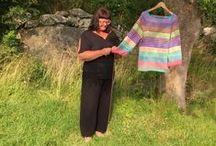 Knitting Sticka Strikk / Crafts, mostly knitting.