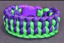 Camping / Scouts: paracord / by Laurie Feeney