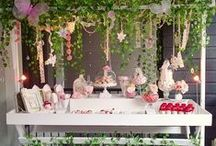 Fairy Party / Little girls love to party especially with fairy friends. Here are some glittery and fun ideas to make every party a success.