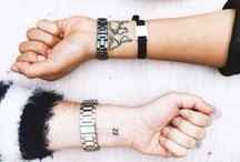 minimalistische Tattoos
