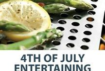 Independence Day Entertaining: Everything You need for a 4th of July Party / From drinkware to grilling accessories to outdoor decor, we have everything you need to host the perfect 4th of July party.
