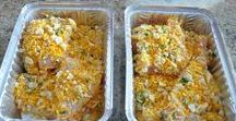 Freezer Meals / Delicious freezer meals