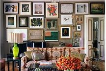art walls. / art walls. lots and lots of art on walls. / by Sheri Reed