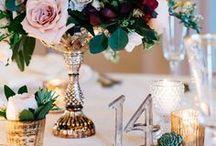Wedding Decor & Centerpieces / Beautiful wedding decorations, centerpieces & reception details.
