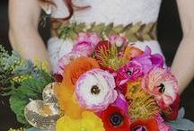 Wedding Bouquets / Stunning wedding bouquets from around the web.