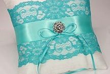 Wedding Ring Pillows / Pretty ceremony ring bearer pillows.
