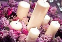 Candle Wedding Centerpieces / Elegant candle centerpieces and design details for your your wedding. / by Your Wedding Company