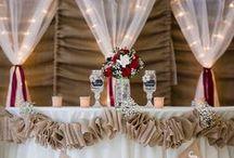 DIY Tulle Wedding Decorations