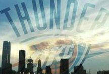 OKC Thunder / by Cynthia Simmons