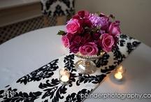 Damask Wedding Decorations