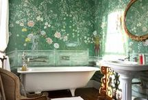 bath #2. / we are currently adding a second bath. this is inspiration. / by Sheri Reed