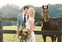 Ranch Weddings / Western, cowboy, ranch style wedding ideas.