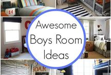 Boy's Bedroom Inspiration / Planning to decorate a boy's bedroom? This board is your source for great boy's bedroom decor.
