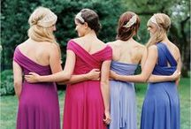Bridesmaid Dresses / Gorgeous bridesmaid dresses in an array of beautiful colors.