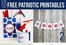 Holidays - Patriotic / Celebrate Patriotism with these great crafts, recipes, and decorations! Pins for Memorial Day, Flag Day, 4th of July, and Veteran's Day.