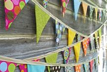 ~ Bunting ~ / by ~ Annette ~