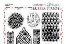 Chocolate Baroque stempels / stempels van mijn favoriete merk