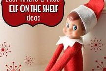 Elf on the Shelf / Need creative ideas for your family's Elf on the Shelf? You'll find them here!