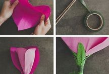 Manualidades//Flores y algo más