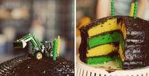 party idea ❤ Tractor