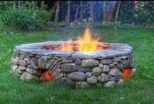 Fire / Fire as a source of heat, as a cooker or simply for decoration...